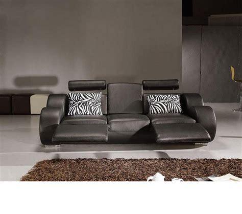 modern leather sofa sets dreamfurniture divani casa 3088 modern leather