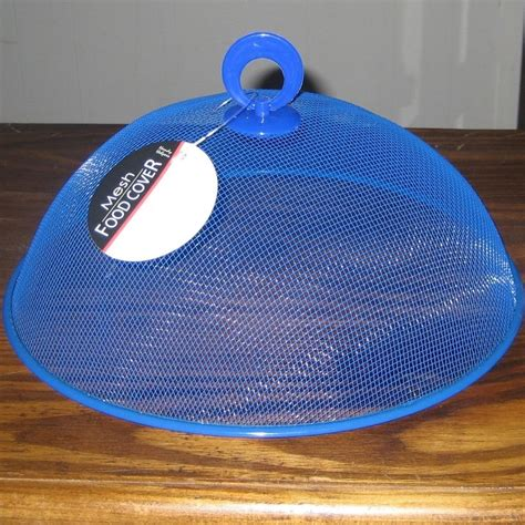 Mesh Food Cover mesh food cover dome 10 190 quot x 3 190 quot picnic bbq cing blue