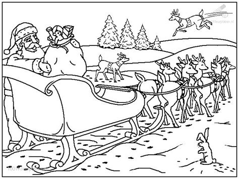 coloring pages of santa claus and sleigh coloringpage coloring page santa claus sled 12