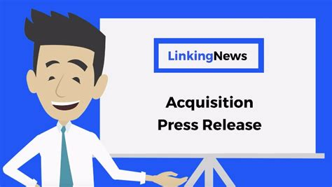 acquisition press release template acquisition press release format acquisition press