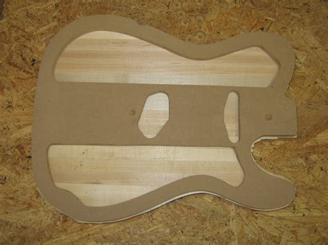 telecaster body templates