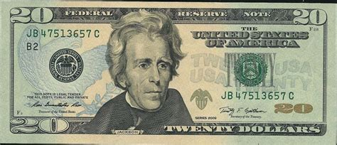 Andrew Jackson Kitchen Cabinet by Opinions On United States Dollar
