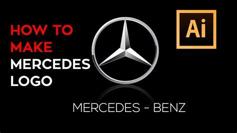 tutorial logo mercedes mercedes benz adobe illustrator logo tutorial youtube