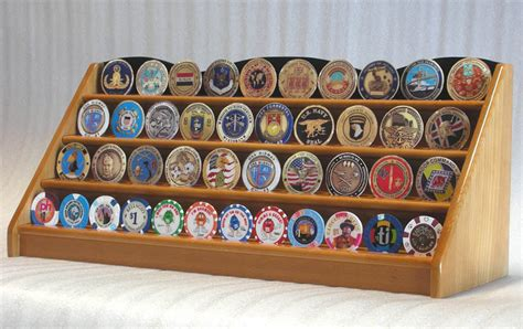 Coin Racks by 4 Row Challenge Coin Display 48 Casino Chip
