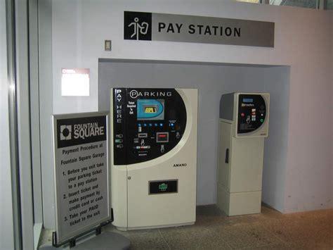 Garage Pay by Parking Square Cincinnati Ohio