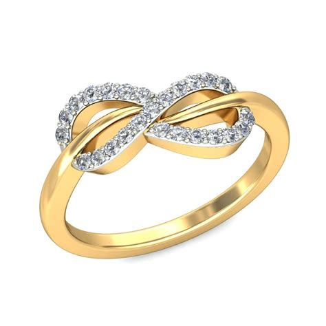 Wedding Ring Infinity Design by Tantalizing Infinity Ring Ring 0 25 Carat