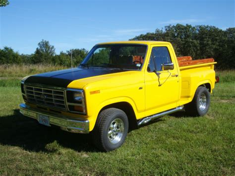 1981 ford f 100 stepside truck frame off restoration 460 motor c6 automatic classic ford f