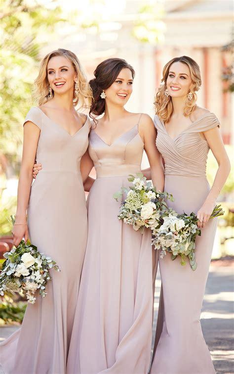 Bridesmaid Dress Fabric - mixed fabric bridesmaid dress sorella vita bridesmaid