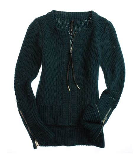 cable knit sweater womens w118 womens zip front cable knit sweater womens