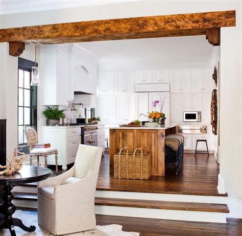 sunken kitchen дерево в интерьере современный дизайн квартиры и дома под