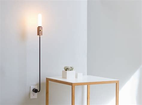 simple floor lamp  stands   base wald plug