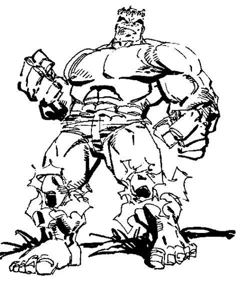 Coloriage L Incroyable Hulk