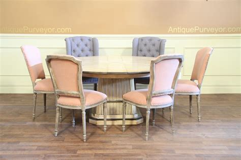 Pastel Dining Chairs 8 Casual Upholstered Dining Chair With Pastel Fabric Set Of 8 Side Chairs