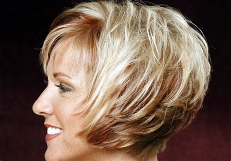 layered bob hairstyles for over 50 front and back view short haircuts for women over 50 the best flattering