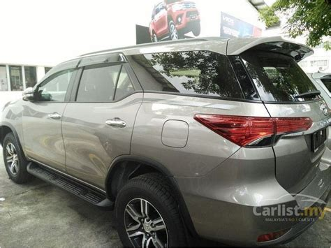 Toyota Fortuner Vrz 2 4 At 2016 toyota fortuner 2016 vrz 2 4 in kuala lumpur automatic suv