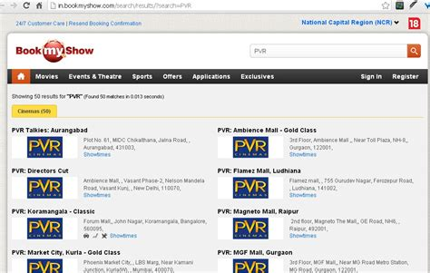 Bookmyshow Pvr | updated bookmyshow gets pvr cinemas tickets medianama