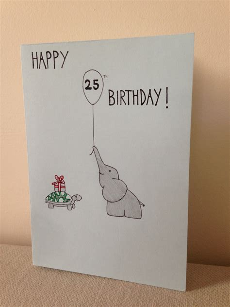 easy birthday card template simple birthday card drawing happyeasterfrom