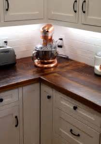 Wood Kitchen Countertops by 25 Best Ideas About Barn Wood Cabinets On Pinterest