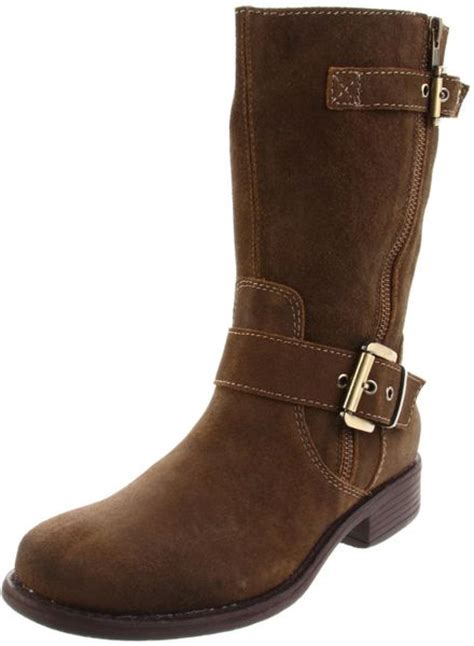 otbt otbt womens jefferson motorcycle boot in brown mud