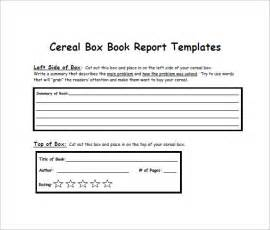 design your own cereal box template cereal box template 10 free sle exle format