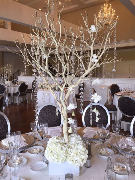 black manzanita tree centerpieces manzanita tree centerpiece created by dezign shop white manzanita trees and shops