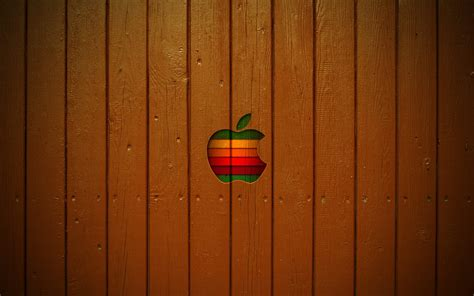 wallpaper apple style mac wooden style wallpaper