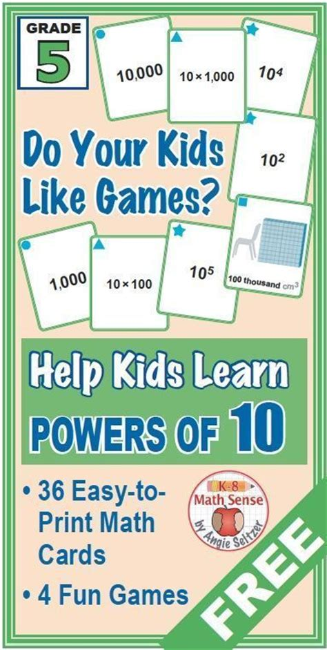 printable exponent games 1000 images about teaching exponents on pinterest