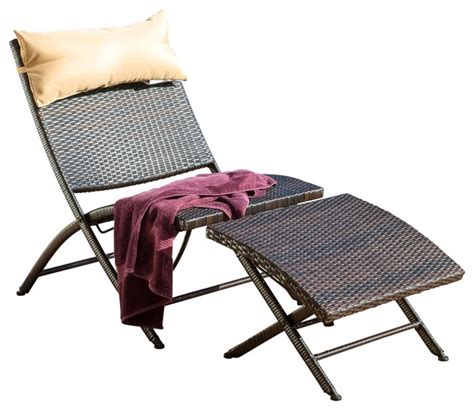 outdoor chaise lounge with ottoman gdfstudio selma outdoor lounge chair and ottoman view