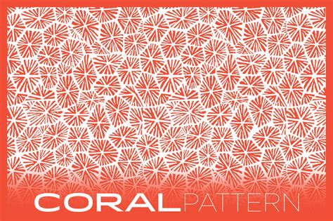 coral pattern coral pattern patterns on creative market