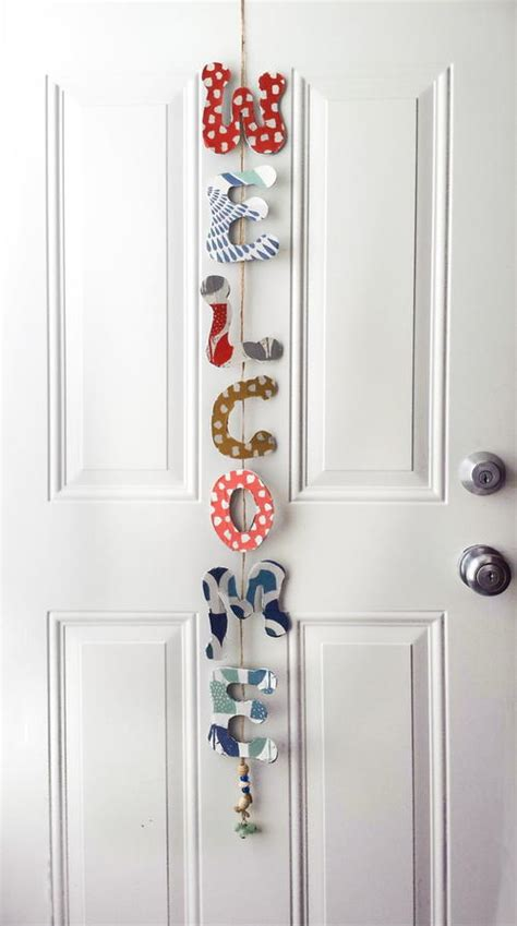 Diy Room Door Decor by Door Decoration Diy Favecrafts