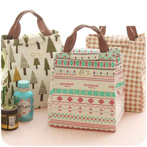 Best Seller Animal Kartun Lunch Bag Cooler Bag Tas Bekal Makan Siang animal whale portable insulated canvas lunch bag totes thermal food picnic for