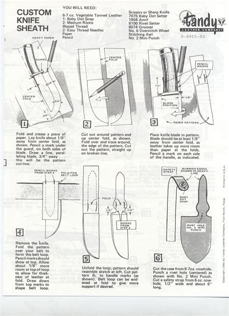 knife pattern tutorial a very easy tutorial on a pancake sheath traditional