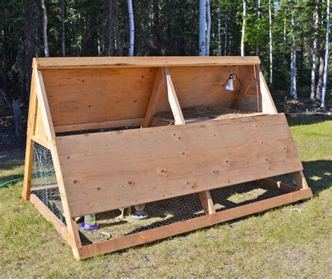 Ana White A Frame Chicken Coop Diy Projects A Frame Chicken House Plans