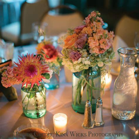 jar centerpieces for blue jar wedding centerpieces to inspire you ipunya