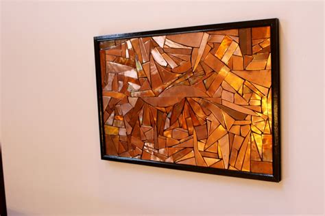 copper wall art home decor copper abstract wall art for pinterest oversize abstract