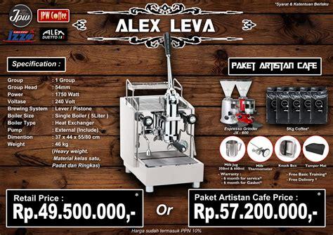 Mesin Kopi Alex Pid mesin espresso mesin kopi paket cafe coffeeshop co id