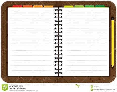 Agenda Note Book leather agenda notebook royalty free stock photo image