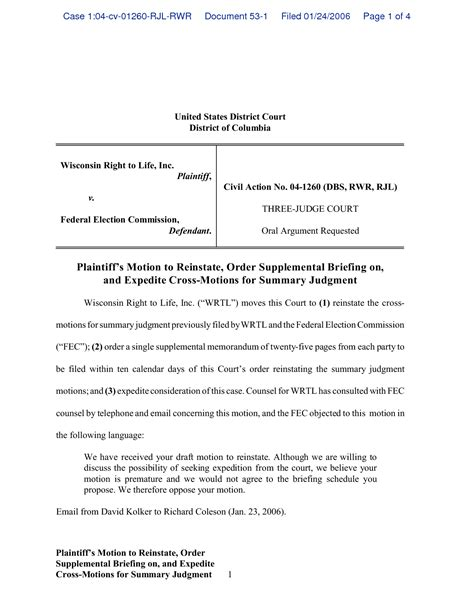 motion template best photos of court motion to dismiss template exle