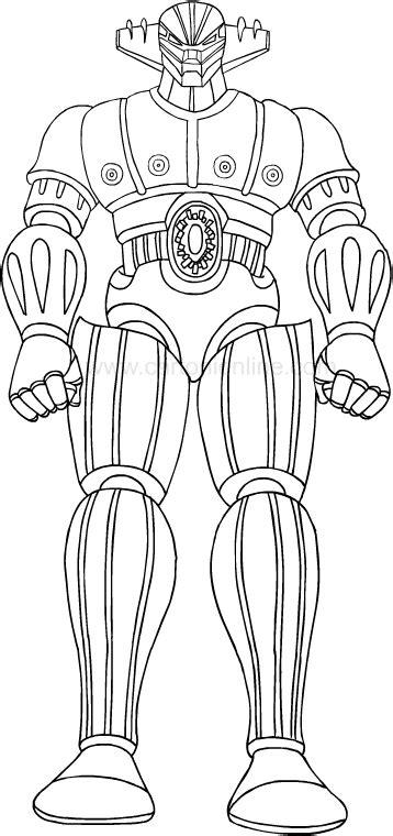 gig robot d acciaio testo disegni di jeeg robot d acciaio da colorare