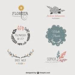 logo templates vector floral logo templates vector free