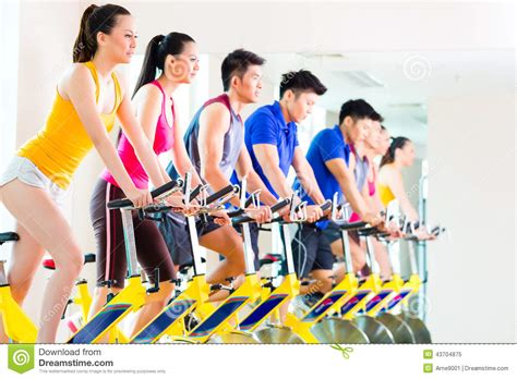 Spinning Bike Sport Id 9 2n asian in spinning bike at fitness