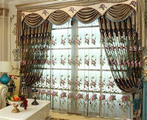 flat pleat curtains double valance promotion shop for promotional double