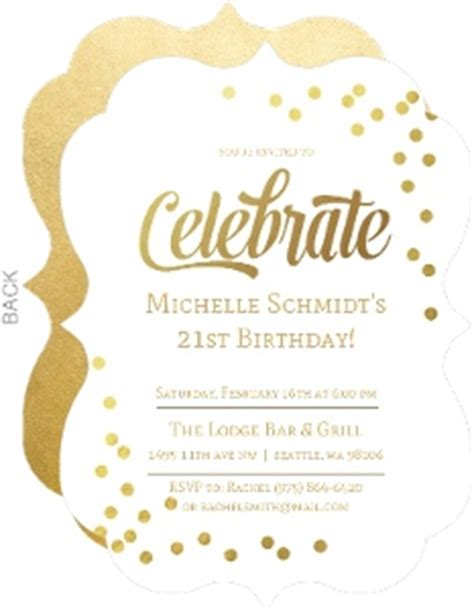 21st birthday invitation wording sles 21st birthday invitations 21st birthday invites