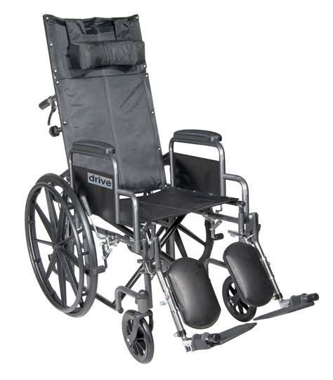 drive reclining wheelchair drive medical drive medical silver sport reclining