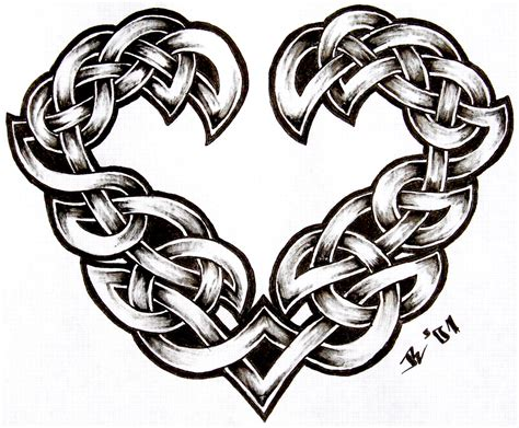celtic heart tattoo celtic by roblfc1892 deviantart my style