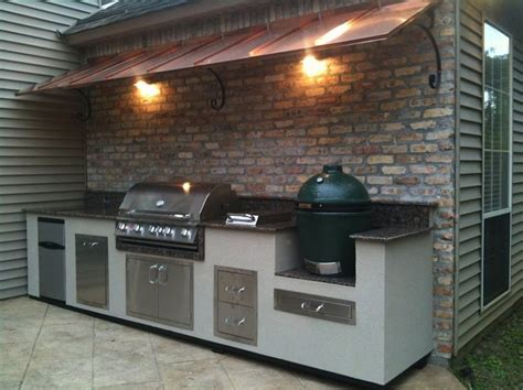 big green egg kitchen 17 best ideas about outdoor grill area on diy