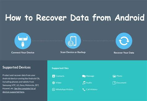 how to recover deleted photos from android how to recover deleted data and files from android