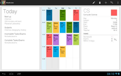 school scheduling app timetable android apps on play
