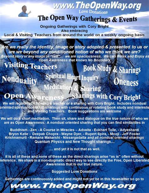 open  nonduality meditation oneness