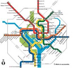 Metro Dc Map by Washington Dc Metro Map Overlay
